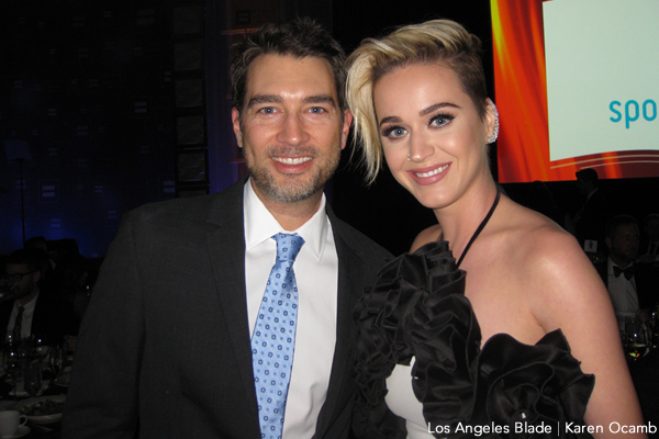 Katy Perry, gay news, Washington Blade, HRC Gala