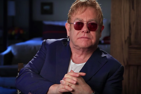 Elton John, gay news, Washington Blade
